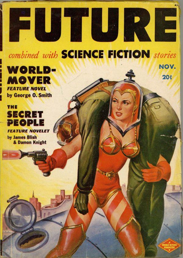 November 1950 Future Science Fiction