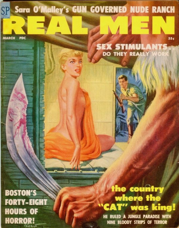 REAL MEN magazine March 1959