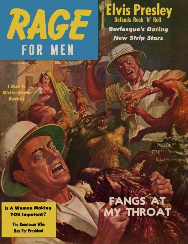 Rage February 1957