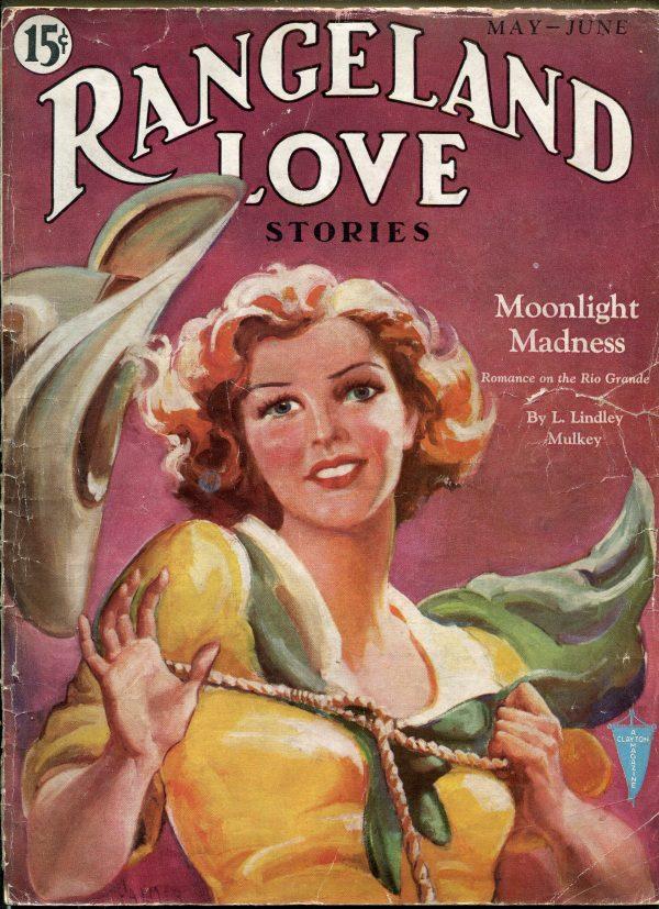 Rangeland Love Stories May 1933