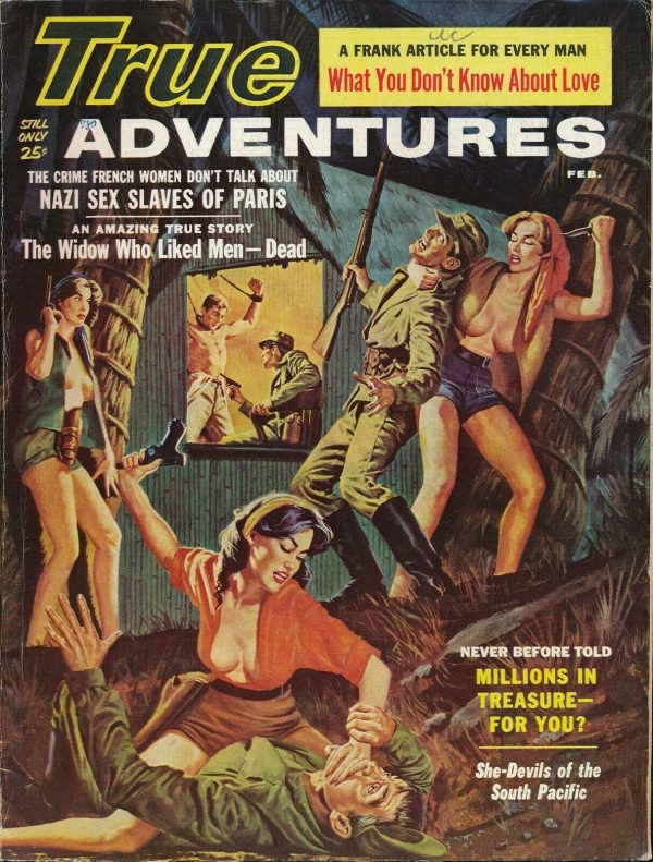 TRUE ADVENTURES Feb 1961