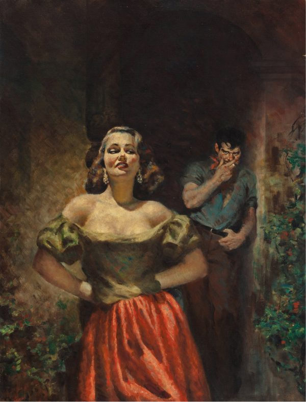 The Naked Rich, paperback cover, 1953
