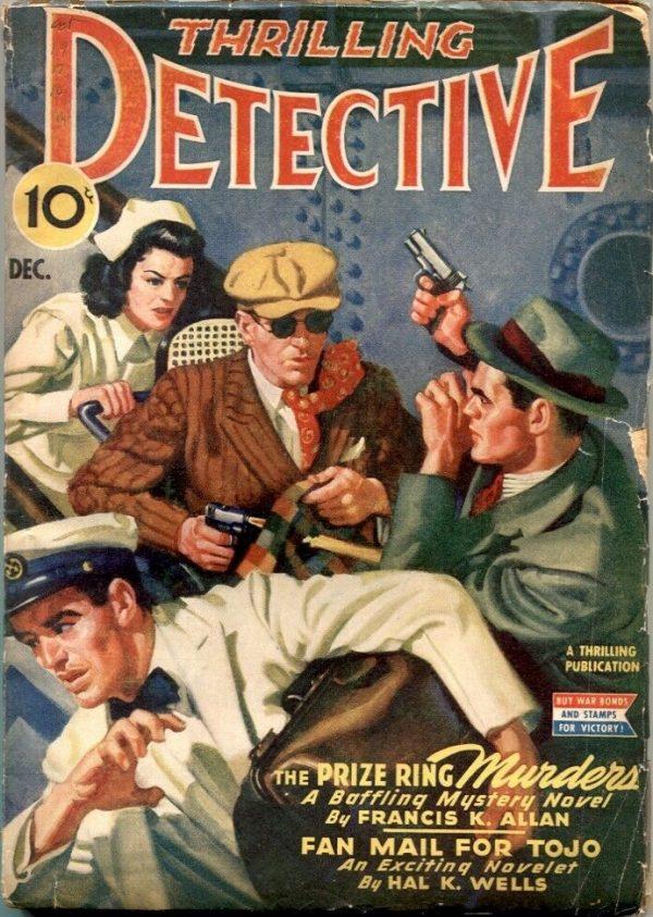 Thrilling Detective Pulp December 1943