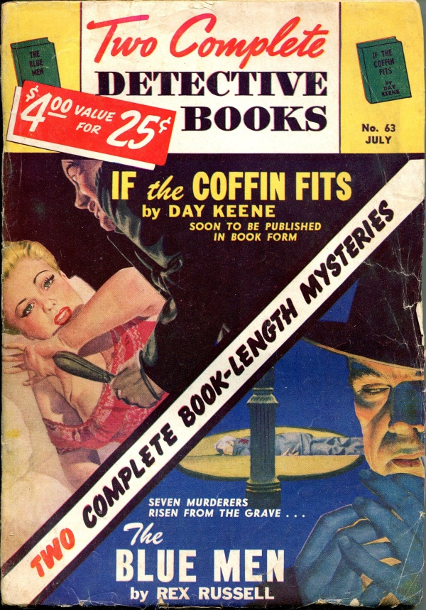 Two Complete Detective Books July 1950