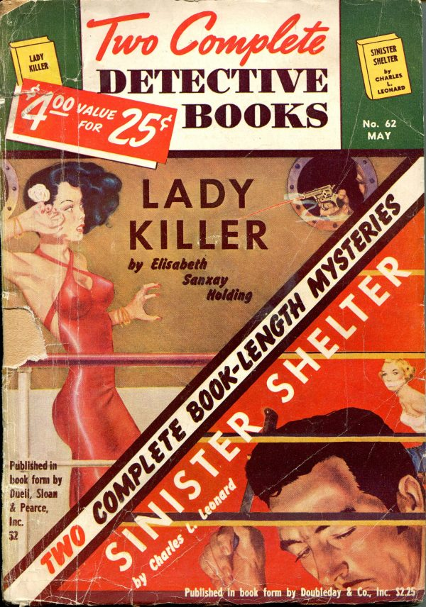 Two Complete Detective Books May 1950