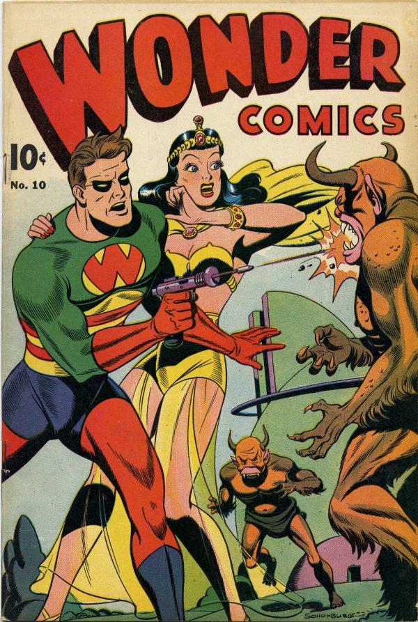 Wonder Comics #10 1947
