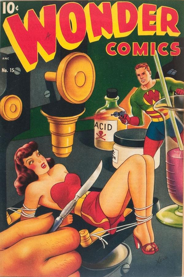 Wonder Comics #15 1947