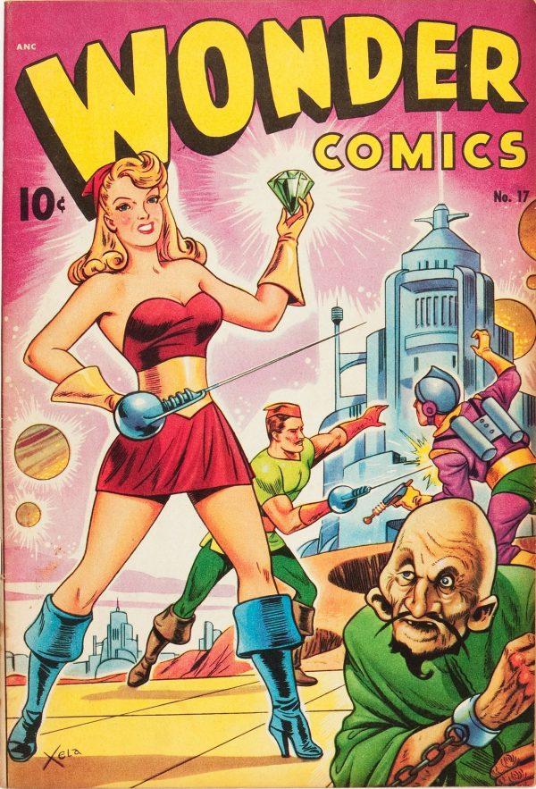 Wonder Comics #17 1948