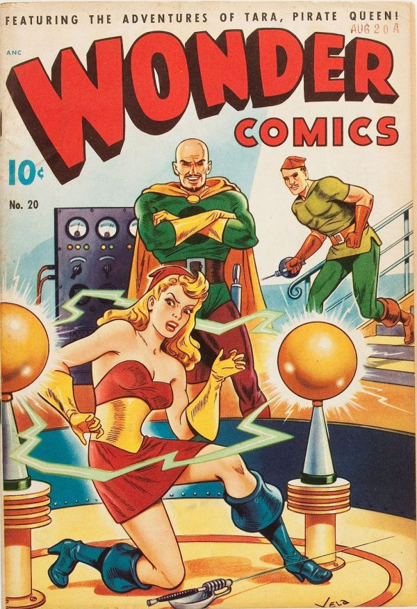 Wonder Comics #20  1948 Last issue