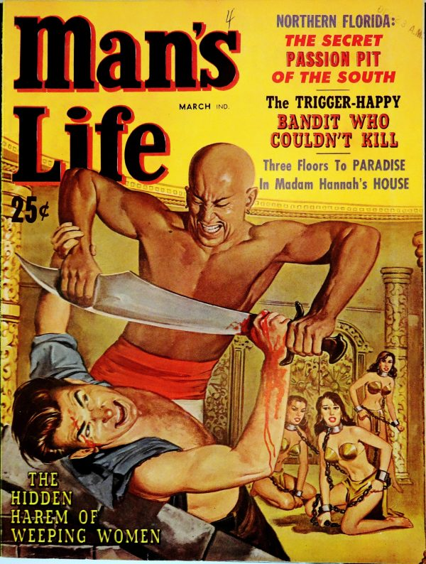 Man's Life (March, 1960). Cover by Wil Hulsey