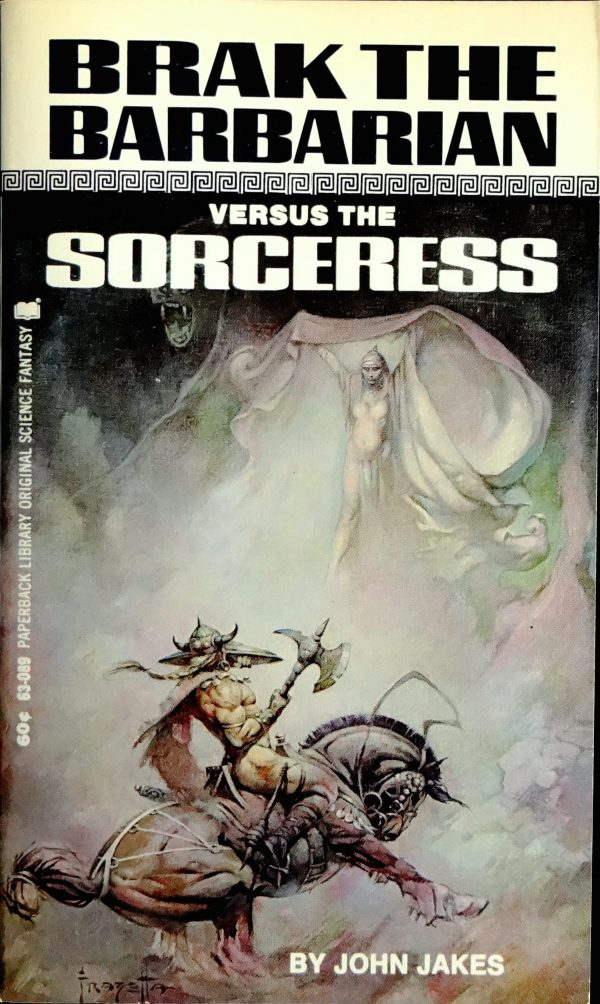 Paperback Library 63-089 Paperback Original (April, 1969). Cover by Frank Frazetta