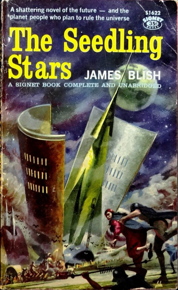 Signet S-1622 (Feb., 1959). Cover Art by Paul Lehr