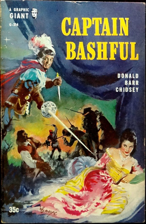 Graphic G-214 ((1956).  Cover Art by Barye Phillips