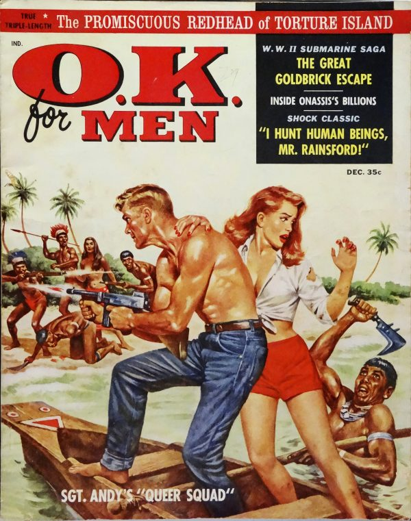 O.K. for Men Vol. 1, No. 1 (Dec., 1958).