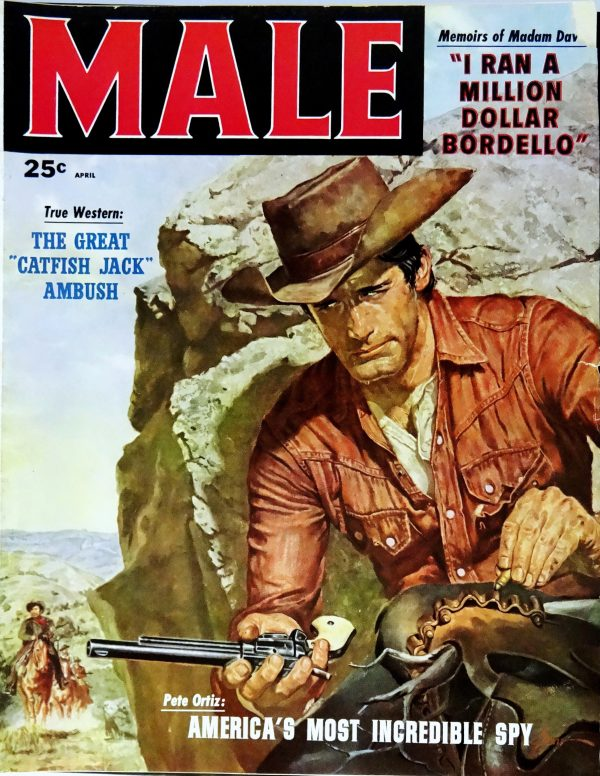 Male (April, 1958). Cover Art by George Gross