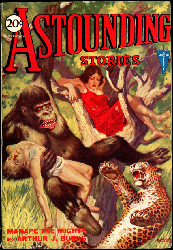 ASTOUNDING STORIES. June, 1931