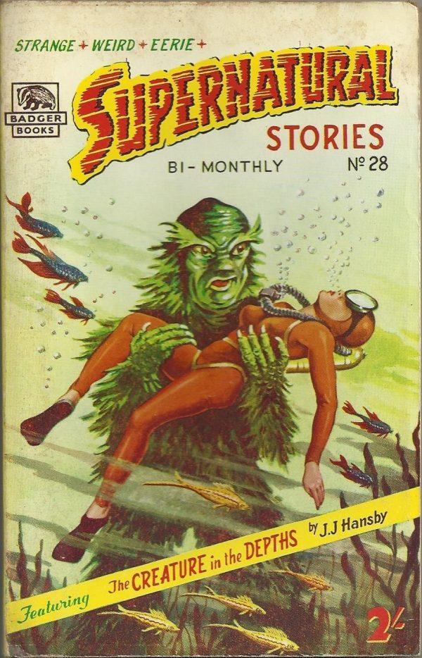 Badger Books Supernatural Stories #28