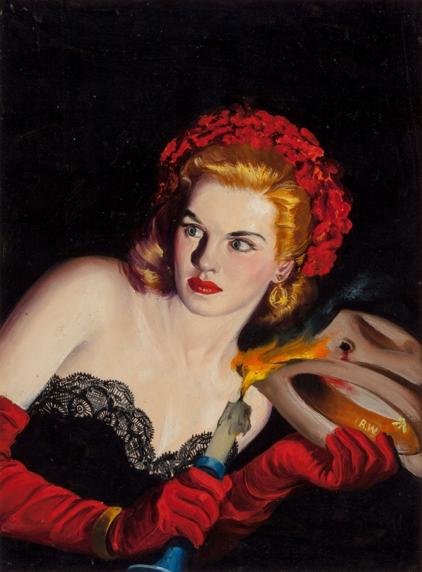 Black Mask pulp cover, July 1945