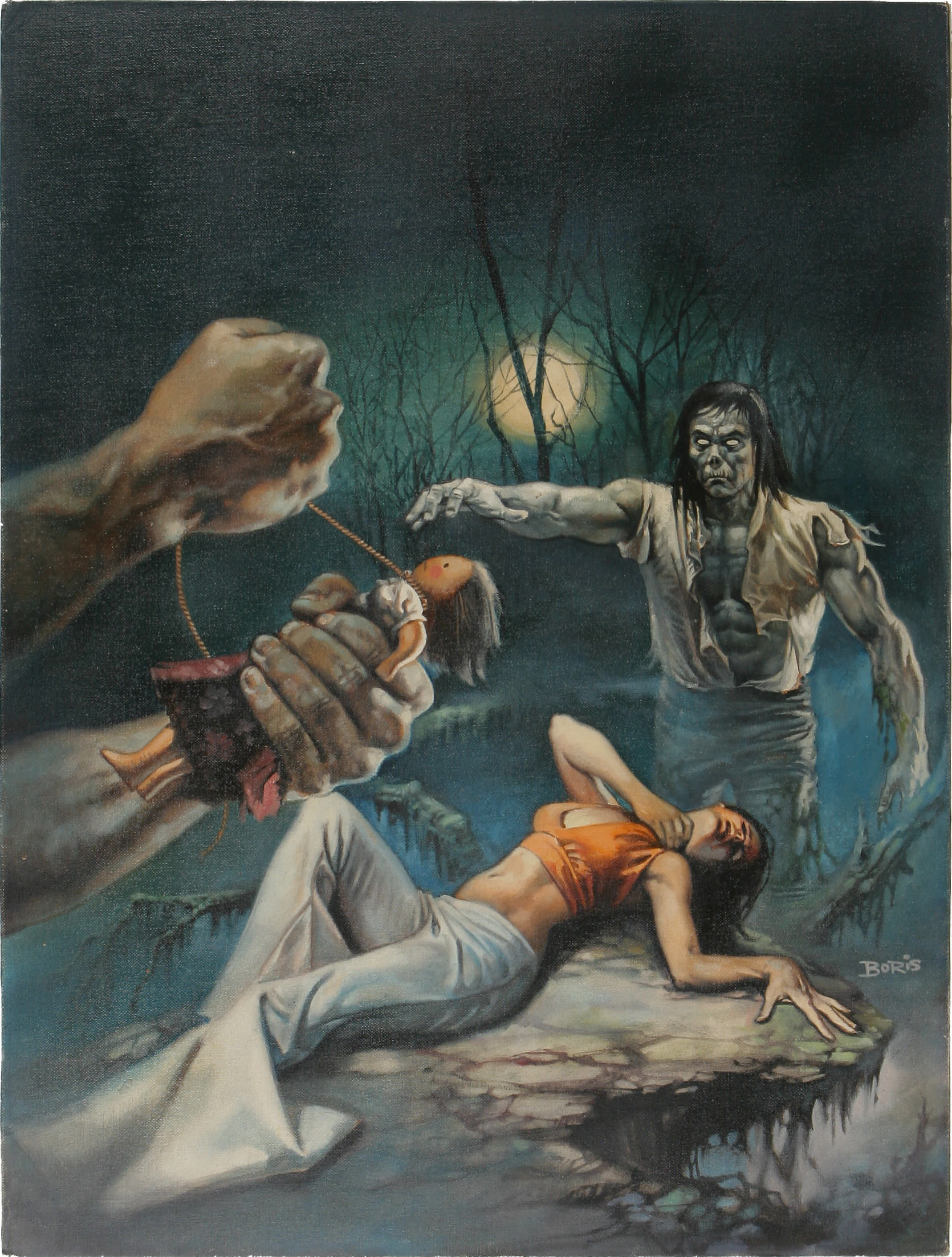 Vengeance Of The Voodoo Gods – Pulp Covers