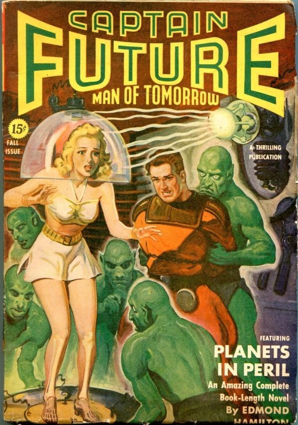 Captain Future Fall 1942