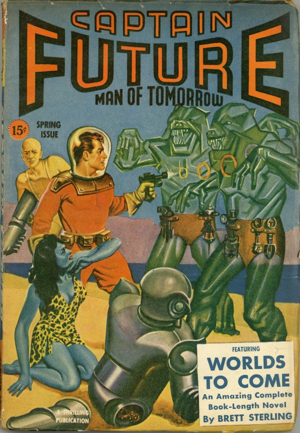Captain Future Spring 1943