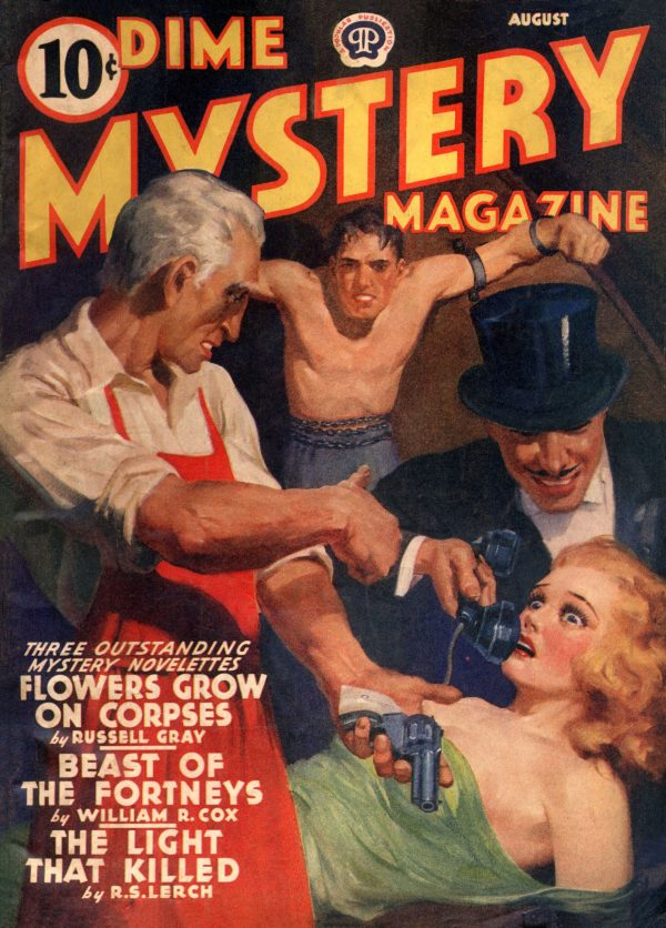 Dime Mystery Magazine August 1940