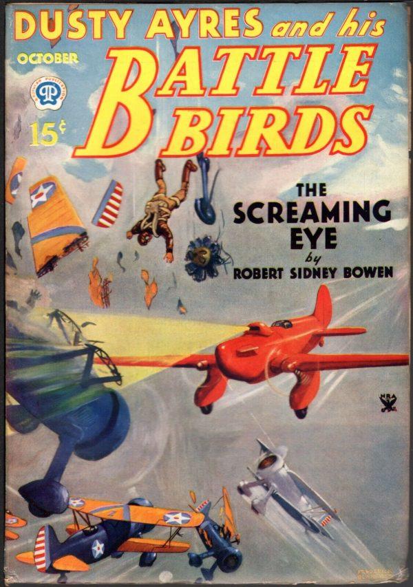 Dusty Ayres & His Battle Birds 1934 October