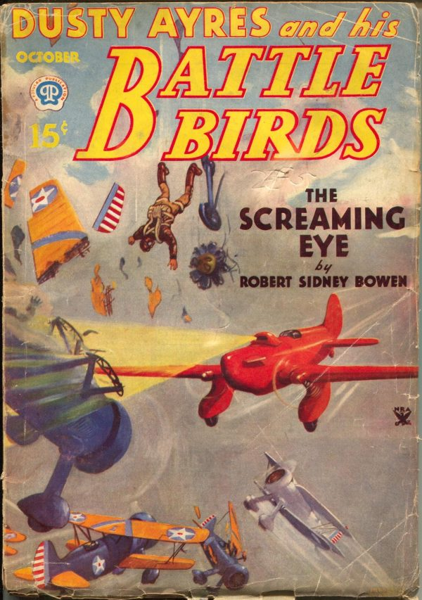 Dusty Ayres & His Battle Birds October 1934