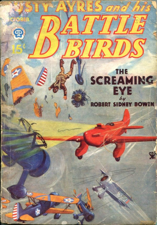 Dusty Ayres and His Battle Birds October 1934