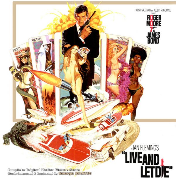 George Martin - James Bond 007 Live And Let Die (Soundtrack) - Front