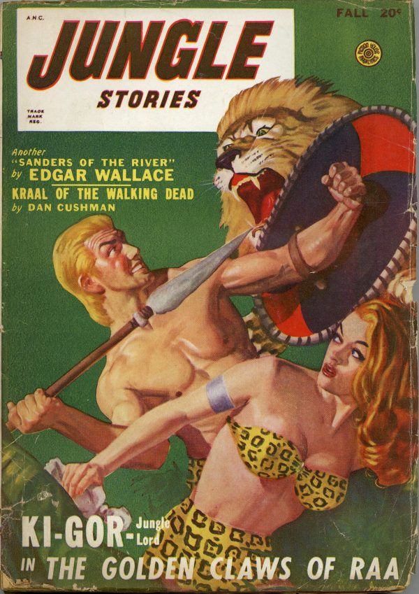 Jungle Stories September 1948