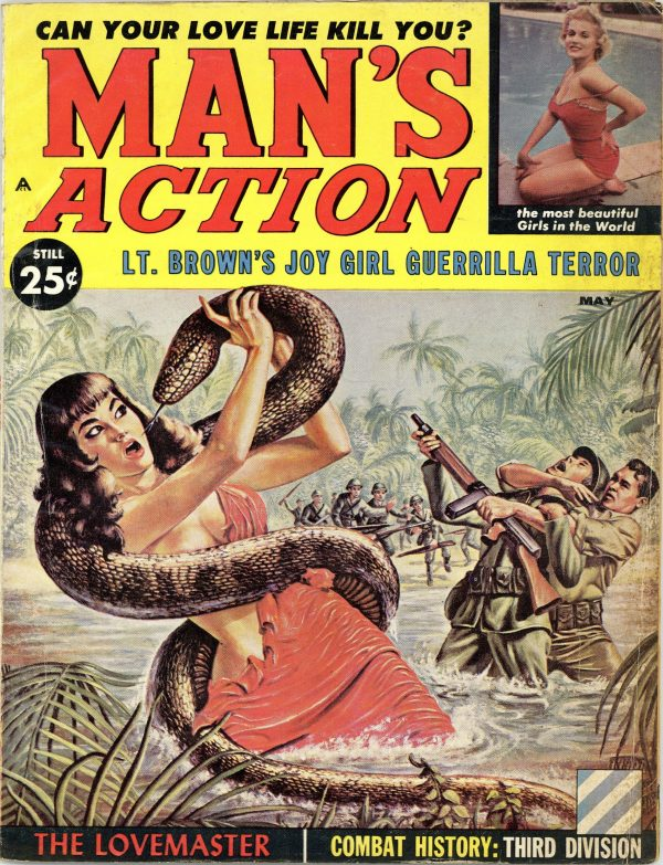 Man's Action Magazine May 1960