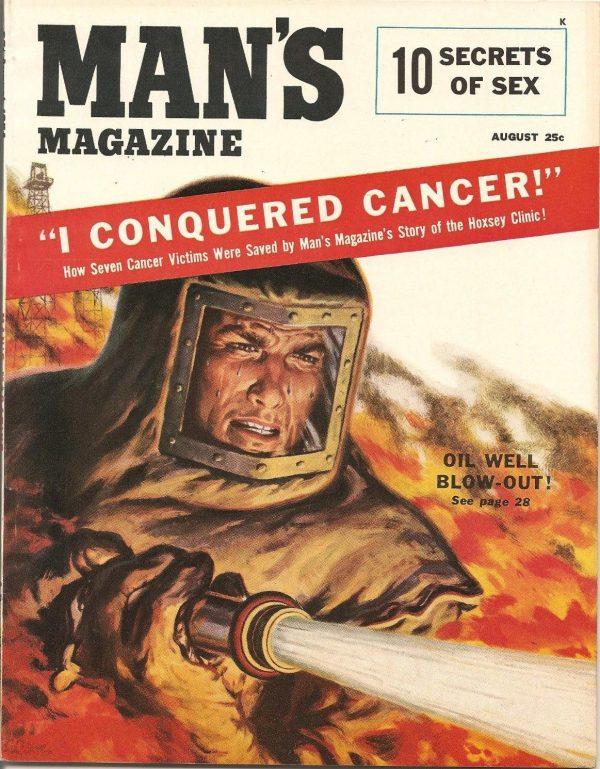 Man's Magazine August 1954