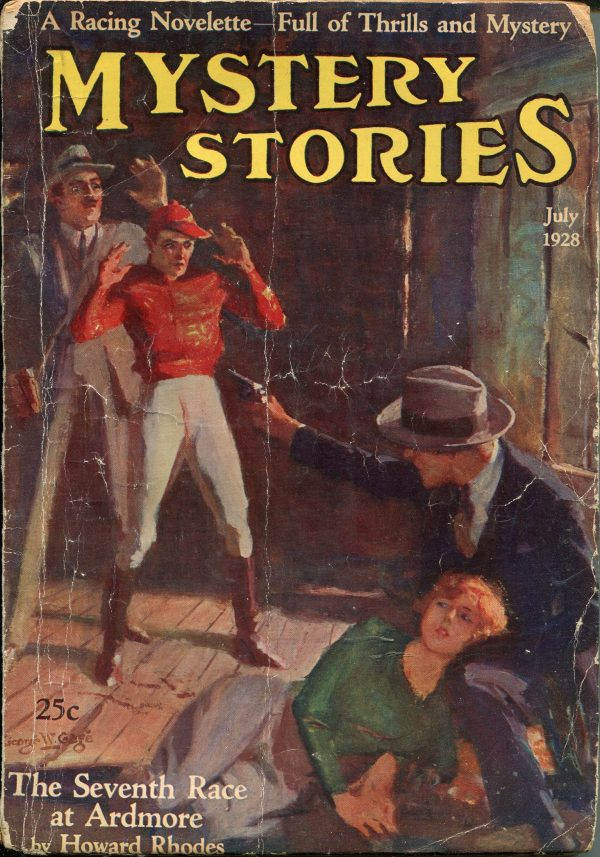 Mystery Stories July 1928