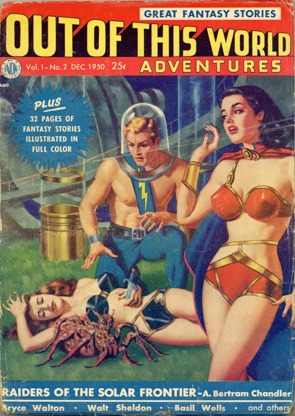 Out of This World Adventures Pulp December 1950