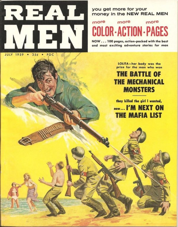 Real Men July 1959