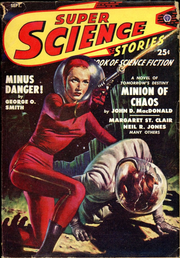 SUPER SCIENCE STORIES. September 1949
