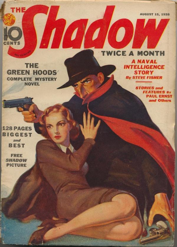 Shadow Magazine Vol 1 #156 August, 1938