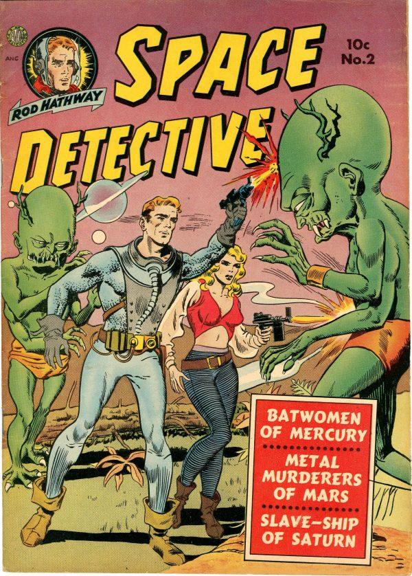 Space Detective #2 (Avon, 1951)