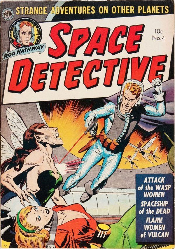 Space Detective #4 (Avon, 1952)