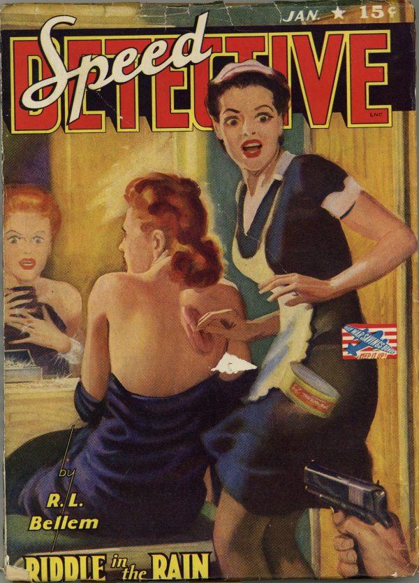 Speed Detective #1 1943 January