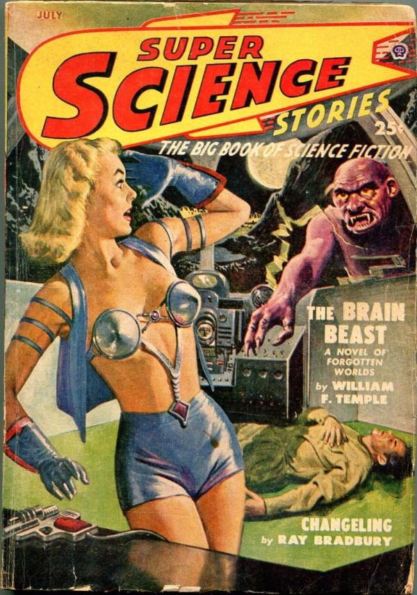 Super Science Stories July 1949