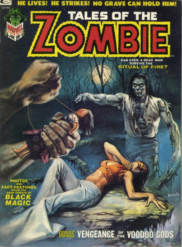Tales of the Zombie #3 1973
