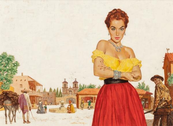 Teresa, paperback cover, 1954