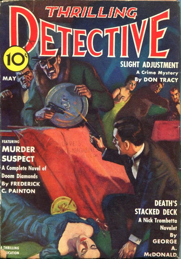 Thrilling Detective May 1940