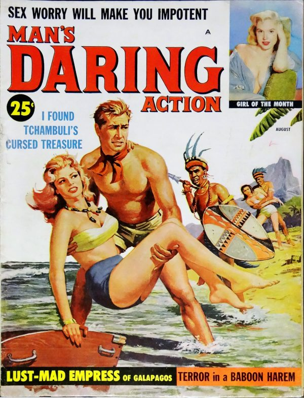Man's Daring Action (August, 1959).  First Issue