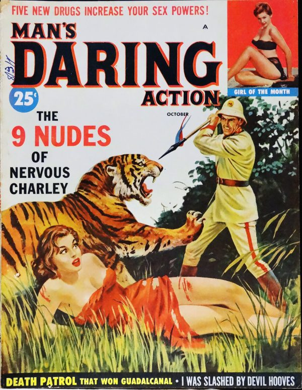 Man's Daring Action (Oct., 1959)