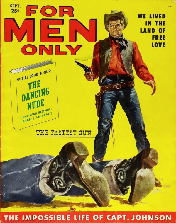 For Men Only (Sept., 1957).