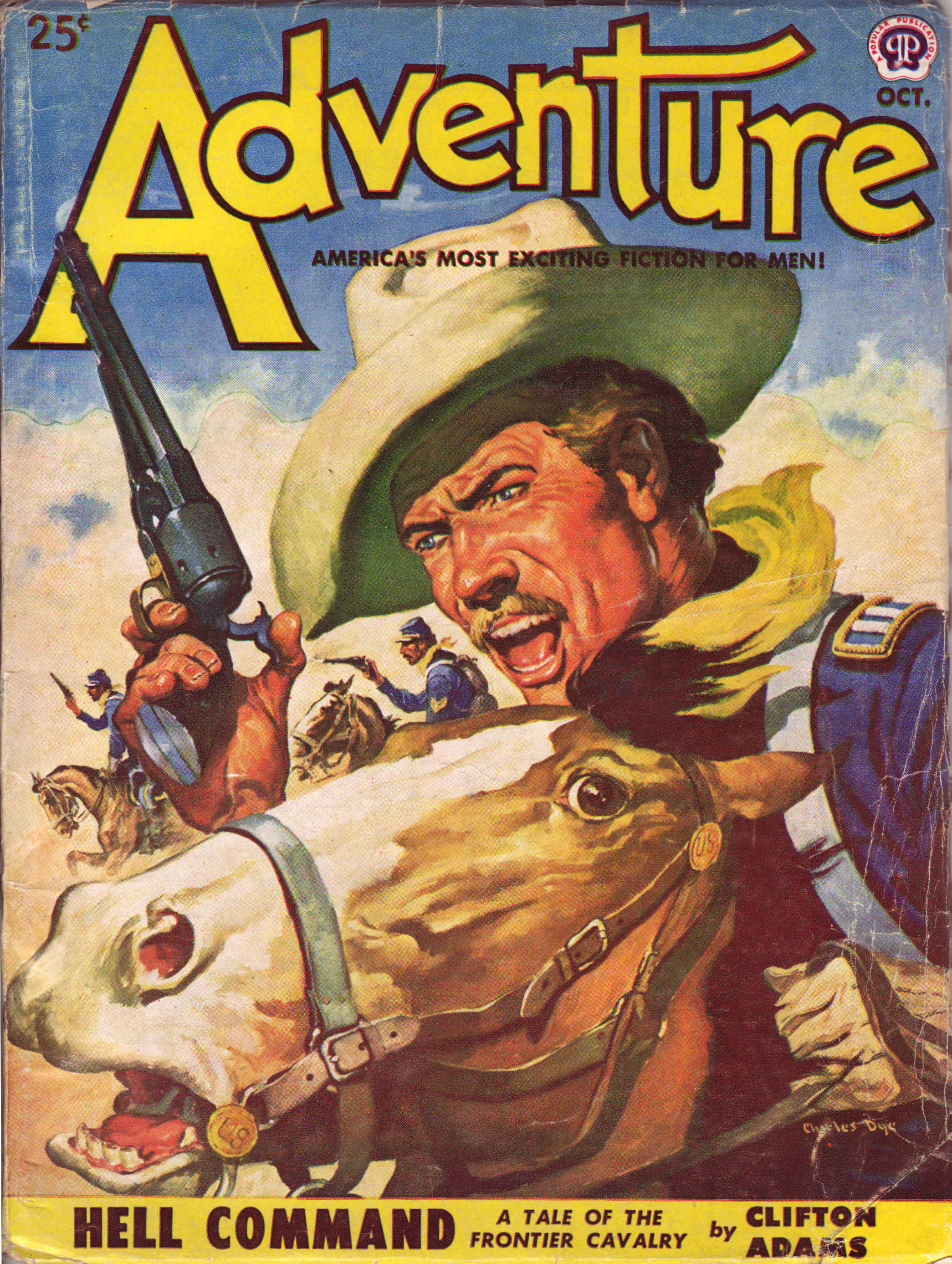 Adventure Magazine Page 6 Pulp Covers