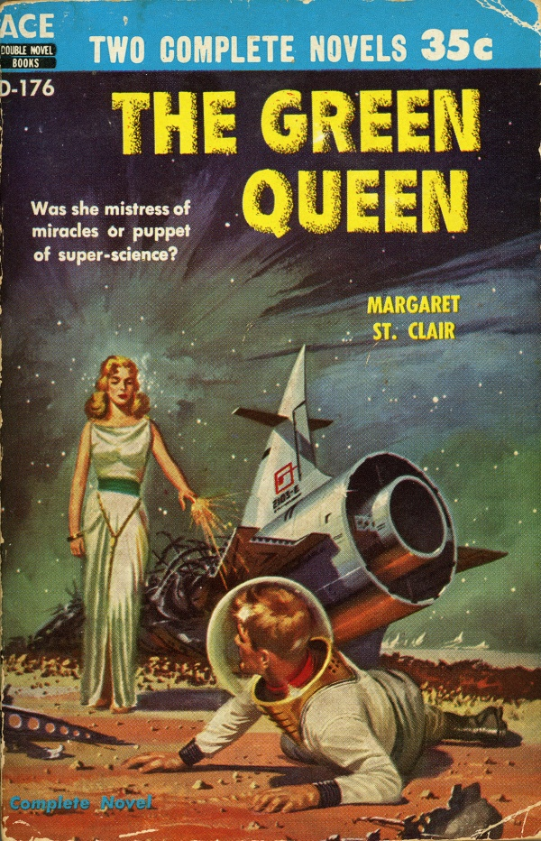 Ace D-176 Paperback Original (1956).  Cover by Ed Valigursky